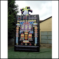 Inflatable advertising slot machine for sale/ for promotion