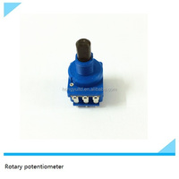360 degree endless precision rotary potentiometer 5 pin potentiometer micro potentiometer