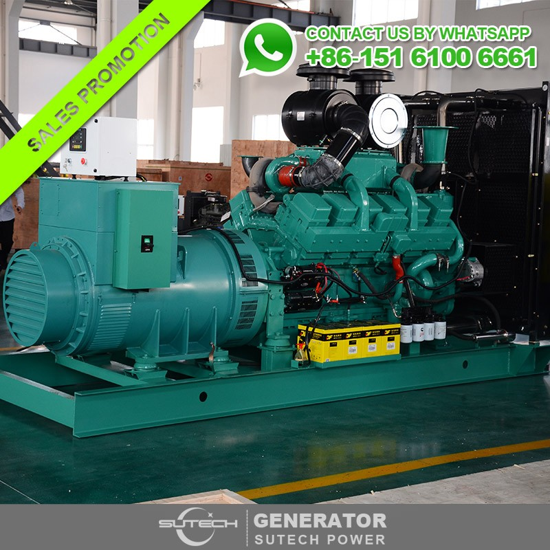 3 Phase 1800KVA generator without silent canopy 1440KW silent type generator price