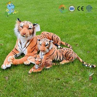 2016 hot sale cheap large lifelike tiger plush animal toys