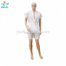 Disposable PP nonwoven robe Kimono Sauna Suits