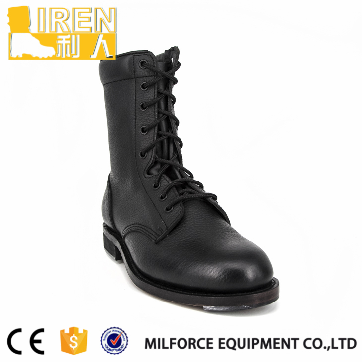 Full grain leather new style military training shoes