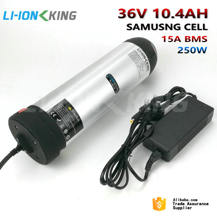LI-<strong>ION</strong> KING Free Tax Duty 250W 15A BMS with 42V 2A Charger 36V 10.4Ah Electric Bike Li <strong>ion</strong> Battery