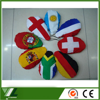 promotional car mirror flag country car mirror cover