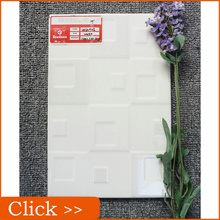 White Wave Pattern Glazed 3d Printer Ceramic Tile from China
