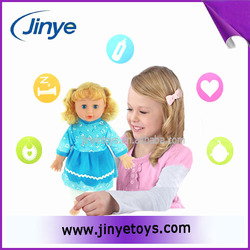 Little girl doll models cute silicone girl doll