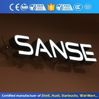 Illuminated Mini Led Customized 3D Acrylic Letter Outdoor Shop Sign