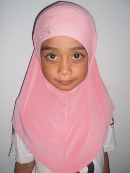 Kids exclusive rhinestone hijab