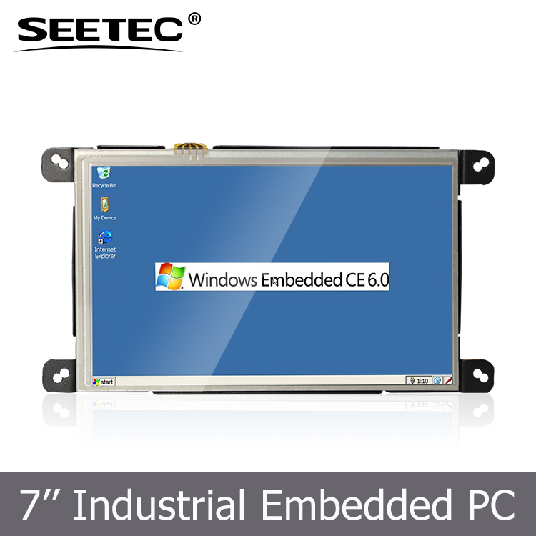 7 inch 800*480 resolution embedded tablet PC windows ce for E-education device Advertising digital signature