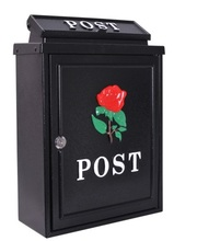 High quality wall mounted postbox