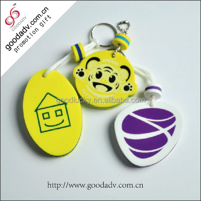 Sweet love heart eva plastic giveaway romantic lover keychains