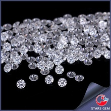 wholesale white round synthetic diamond 2mm forever brilliant moissanite