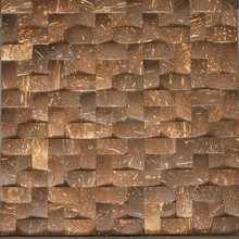 Coconut shell design your own mosaic tile