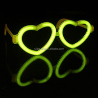heart eyeglasses glow in the dark