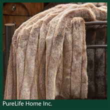 SZPLH Faux fur throw made in China