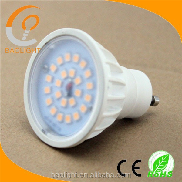 200V-240V 2years warranty Shenzhen factory 4000k 6000k 500lm home high lumen 5 w gu10 led spot light lamp