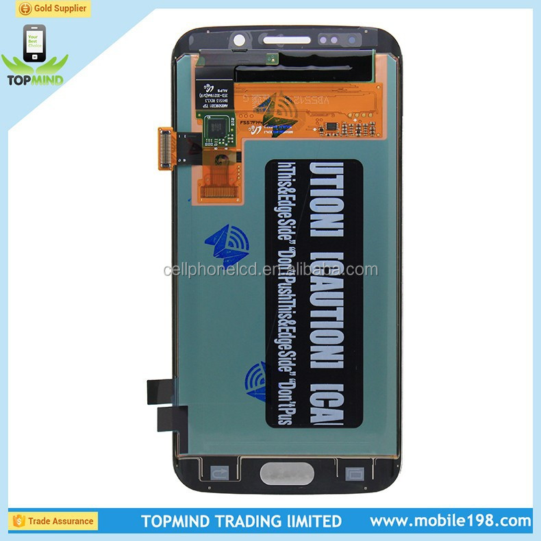Brand New S6 Edge LCD for Samsung Galaxy S6 Edge LCD Display with Digitizer