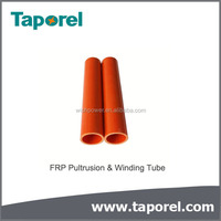 Fiber Glass Polyester resin Tube produced by winding and pultrusion process