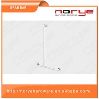 Serviceable bathroom swing up grab bar
