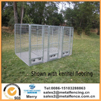 4' X 8'X6' Multiple Modular Welded Wire Professional Kennel Dog Run with flooring