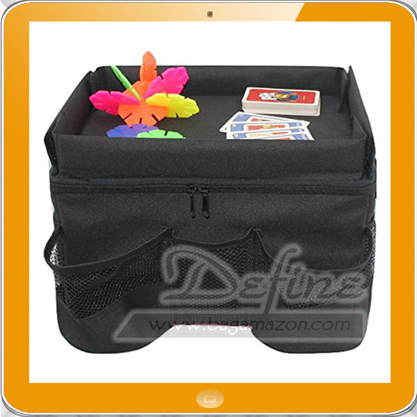 Travel accessories car seat travel tray organizer for kids