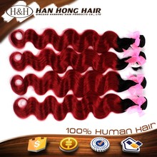 Hot Texture Brown Highlight Color No Smelling Newest Type 8A Grade 100% Virgin Full Cuticle Human Hair Extension Brazilian Hair