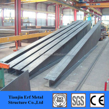 Straight / Tapered Flange Beam , Tapered H-section Steel Column for Sale