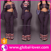 2016 Latest Women Clothing Wholesale Plus Size Long Sleeve Two Piece