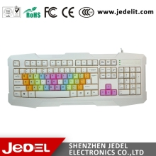 2015 Multifunctional Colored mini usb flexible keyboard gaming keyboard