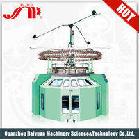 China Commercial Single Jersey Electronic Smart Mayer Computerized Jacquard Circular Knitting Machine With Overseas Service