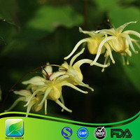 stimulates sexual material Honey Goat Weed Extract 50% Icariins/Epimedium grandiflorum Extract