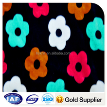 micro polyester and spandex super soft velboa fabric for toys/sofa/textile