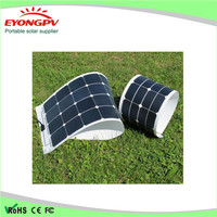 bendable 100w 80w 60w 40w 20w 12v 18v solar panel