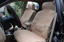 2015 New Design artificial 3D Ice Silk seat cover for car