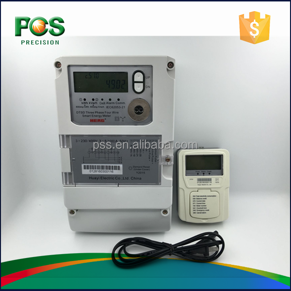 Hot Sale STS Prepaid 3 Phase 4 Wire kwh <strong>Meter</strong>