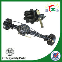 China made 2 speed rear axle for three wheel motorcycle/trike/go kart