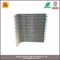 Aluminum Fin condenser for chiller/AHU