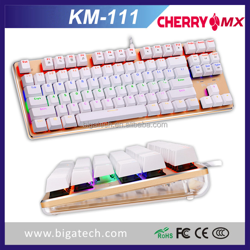2016 New keyboard RGB Mechanical gaming keyboard with Cherry MX switch