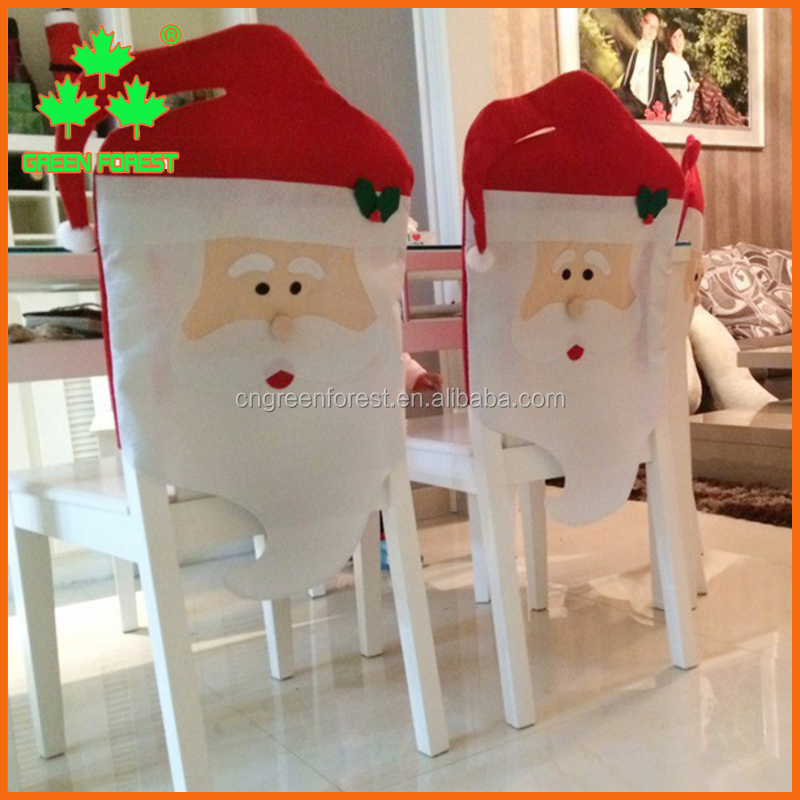 fancy santa dining chair cover for decor