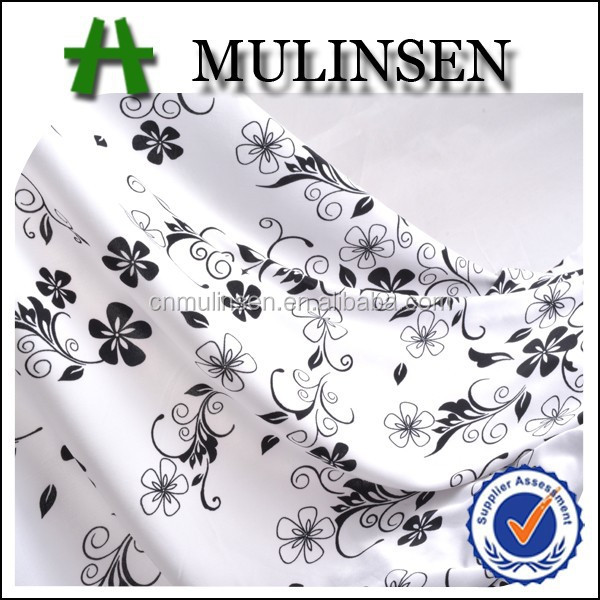 Mulinsen Textile Soft Handle Single Jersey 100D/192F 4 Way Stretch Knit 93 Polyester 7 Spandex Fabric For Underwear
