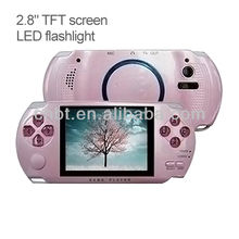 "2.8"" TFT screen mp3 player with digital camera, DV function,and LED flashlight"