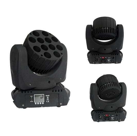 Stage Light Factory 15ch 12x10w 4in1 Moving Head Beam Led