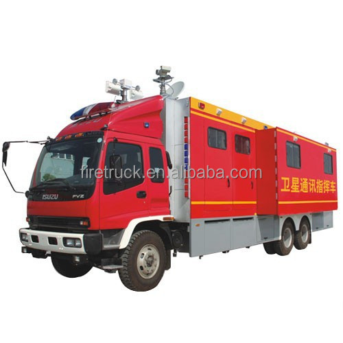 Command and Communication Fire Vehicle