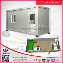 20ft ISO prefab light steel welding container house