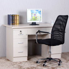 wooden computer table photo , desktop computer home office furniture