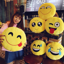wholesale cheap cute cotton stuffed face emoji pillow cushion /emoji throw pillow