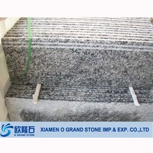 Cheap granite laminate pre-cast natural stone stair treads