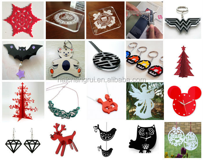Wide range of materials new designed mini craft laser cutting machine