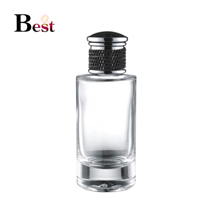 manufacturer custom square 35ml 50ml 100ml empty perfume bottles clear perfume bottles luxury glass perfume bottle