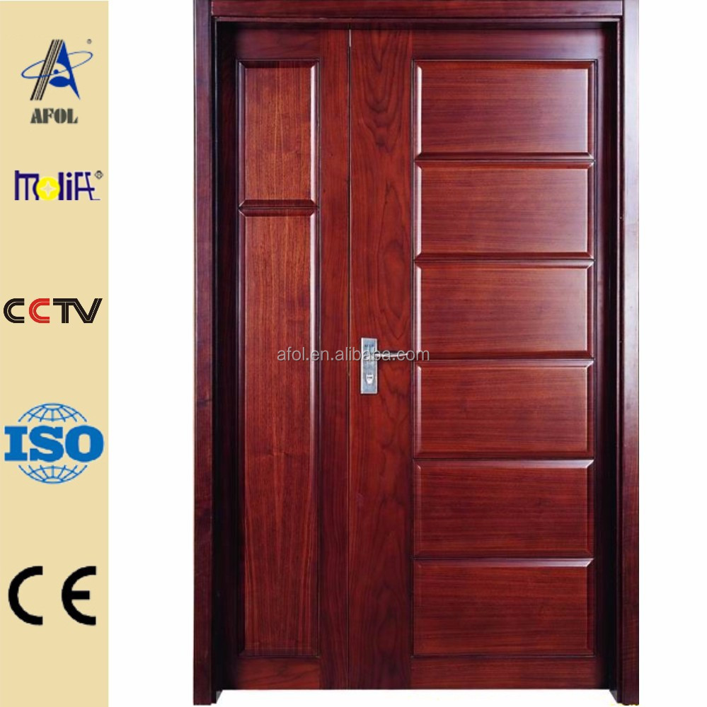 Zhejiang AFOL modern solid wooden doors,latest wooden door designs low prices